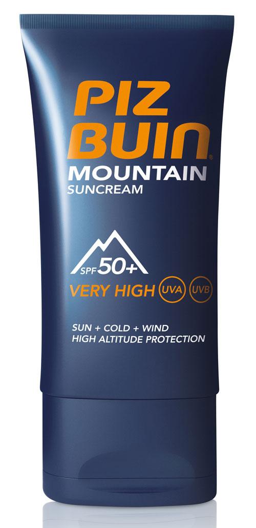 mountain suncream piz buin