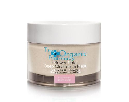 cosmetica-organica-the-organic-pharmacy-mascarilla-limpiadora-petalos-flores