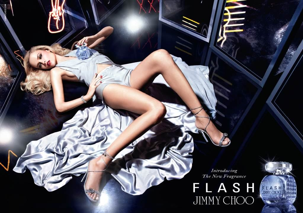 adv flash jimmy choo