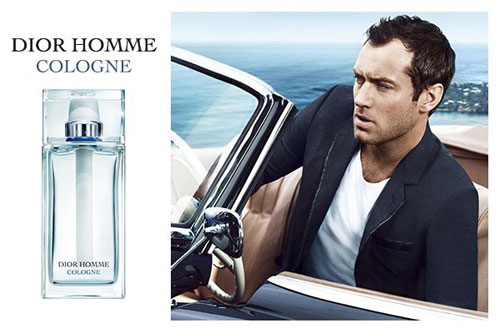 jude law dior homme cologne