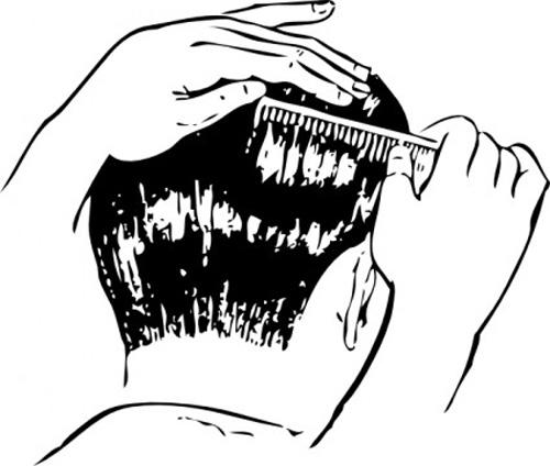 peinado-masculino-con-peine