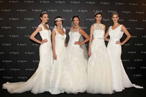 st. patrick presenta sus vestidos de novia para 2014 | bellezapura