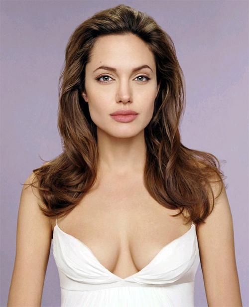 Angelina Jolie torso