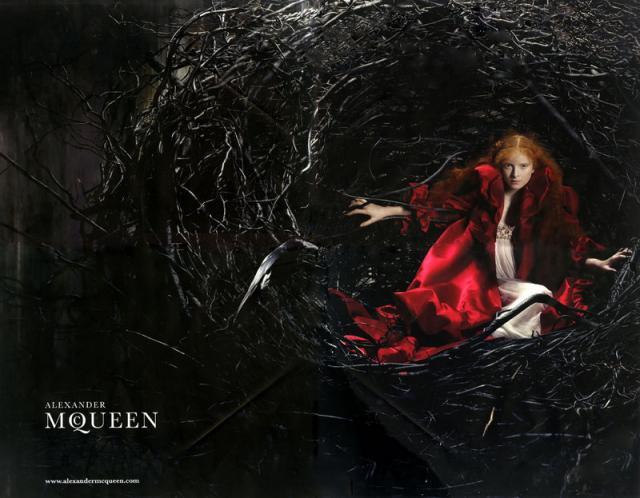 Alexander McQueen Fall-Winter  2008. 2009 Ad Campaign  Alice Gibb 2.preview