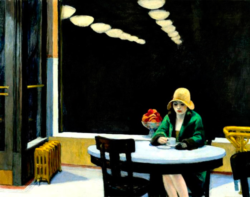 Un poco de Edward Hopper para ilustrar esta gran iniciativa