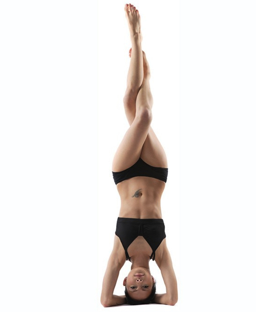 yoga invertida