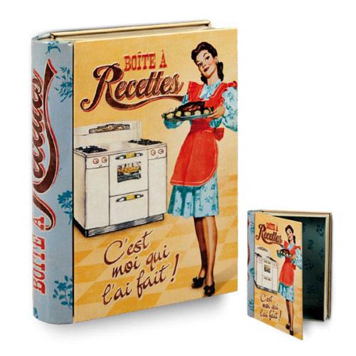 caja libro recetas