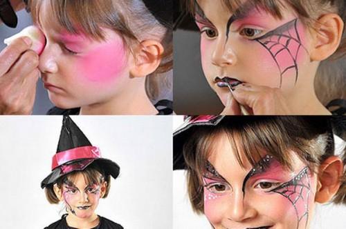halloween-maquillaje infantil