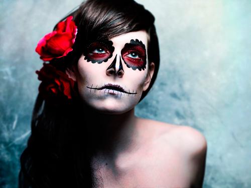 maquillaje-halloween-noche-muertos-catrina