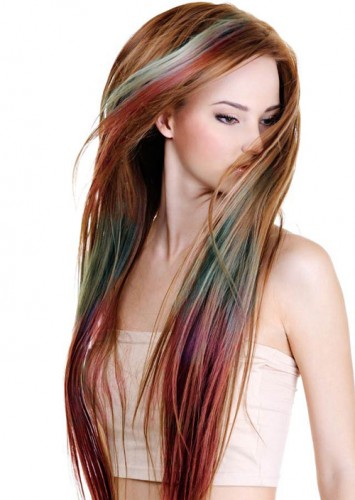 Bellezapura Mechas De Colores Hair Chalk De L 180 Or 233 Al