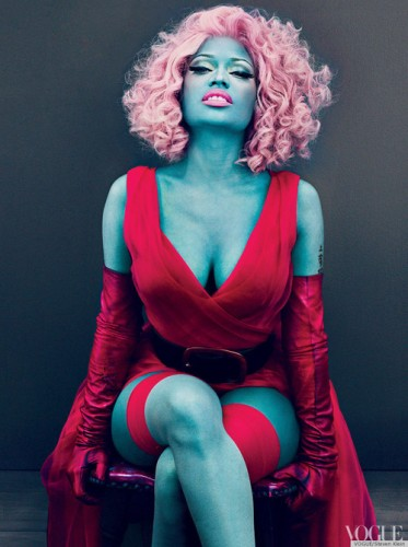 NICKI-MINAJ-VOGUE-BLUE