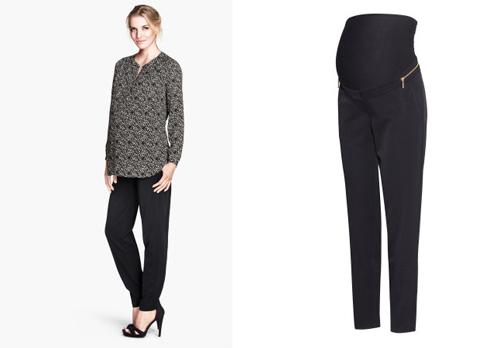pantalon moda premama-hm