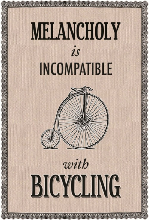 Angie-Freese-Melancholy-is-Incompatible-with-Bicycling-by-East-End-Prints