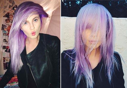 ireland-baldwin-pelo-lila-purpura