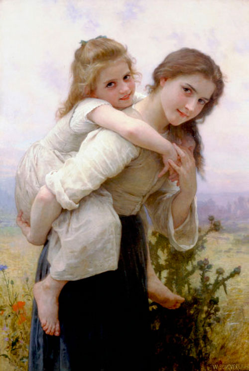 404px-William-Adolphe_Bouguereau_(1825-1905)_-_Not_Too_Much_To_Carry_(1895)