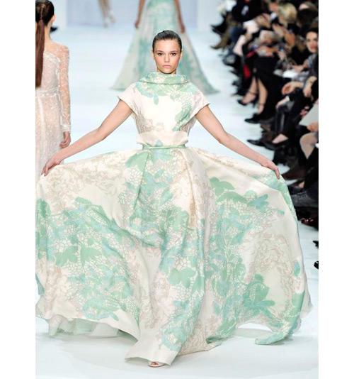 Elie Saab primavera-verano 2014 alta costura
