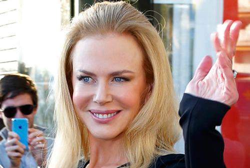 Nicole Kidman en la presentación de la película en Cannes