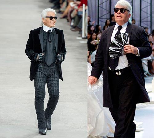 Después y antes de Karl Lagerfeld, quien nunca ha ocultado que ingirió poco más que Coca Cola Light para reducirse de este modo