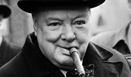 Perfumes de la guerra: Churchill