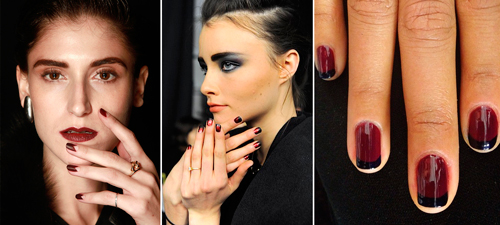 tendencias-unas-manicura-rojo-negro-otono-invierno-2014-2015
