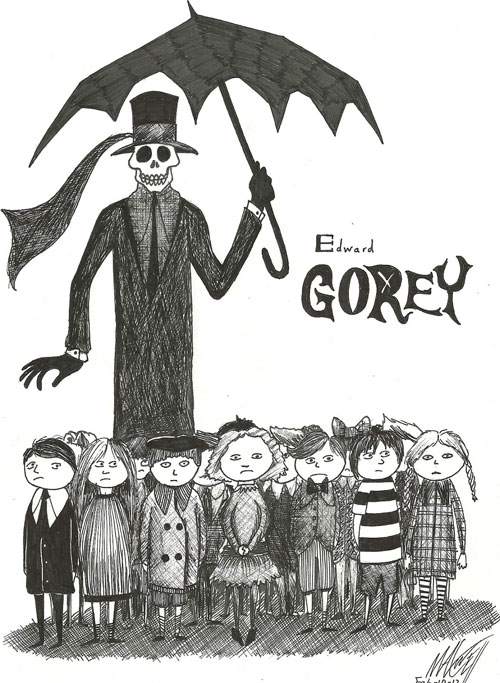 Umbrella, de Edward Gorey