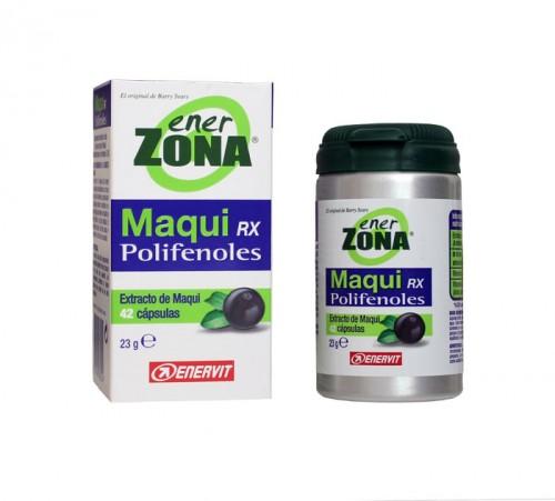 Maqui RX de Enerzona. Precio:  39 euros. En farmacias y parafarmacias.