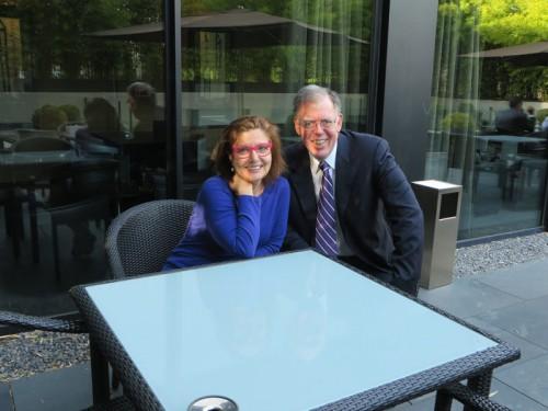 Entrevista exclusiva con el Dr. Barry Sears en la terraza del Hotel AC Atocha.