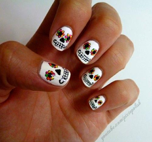 calaveras-mexicanas-nail-art-halloween