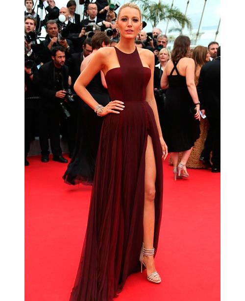Blake Lively ya anticipaba la tendencia vestida de Gucci en el festival de Cannes