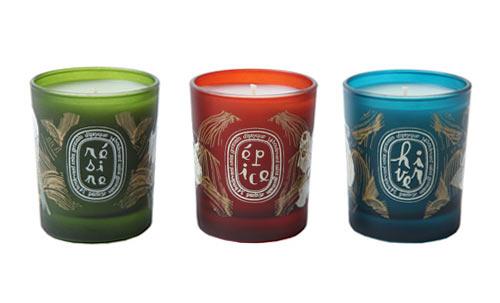 velas invierno diptyque