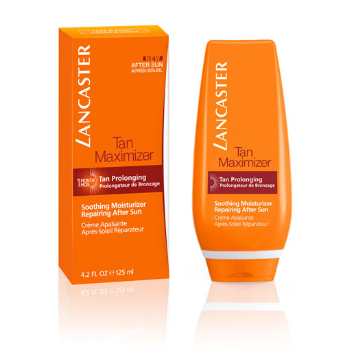 LANCASTER_TAN-MAX-SOOTHING-MOISTURIZER-REPAIRING-AFTER-SUN-F&B_PACKAGING-+-PRODUCT
