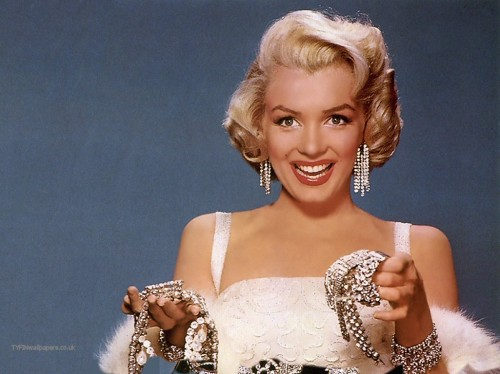 Marilyn-Monroe diamantes amantes