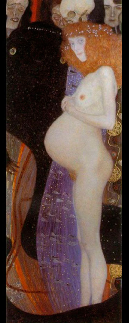 La Esperanza I, Klimt