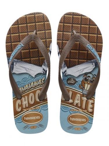 havaianas chocolate