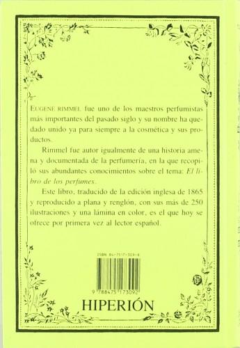 el libro de los perfumes eugene rimmel