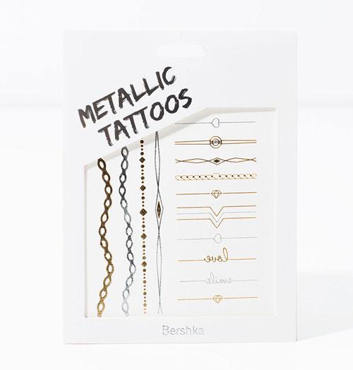 bershka-metallic-tattoos