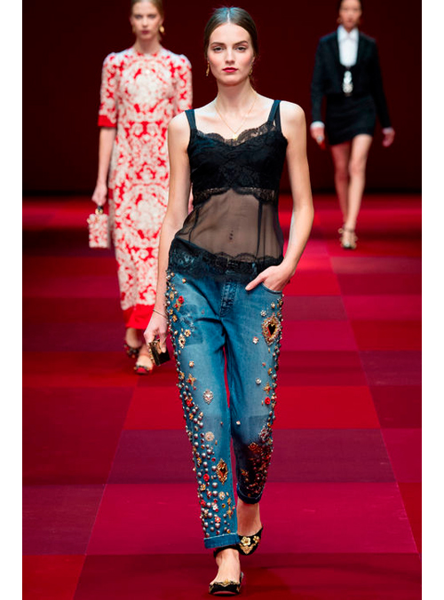 Dolce Gabbana Primavera-Verano 2015