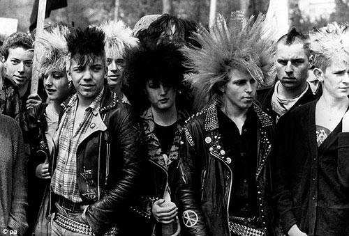 Punks de cuando el punk era punk