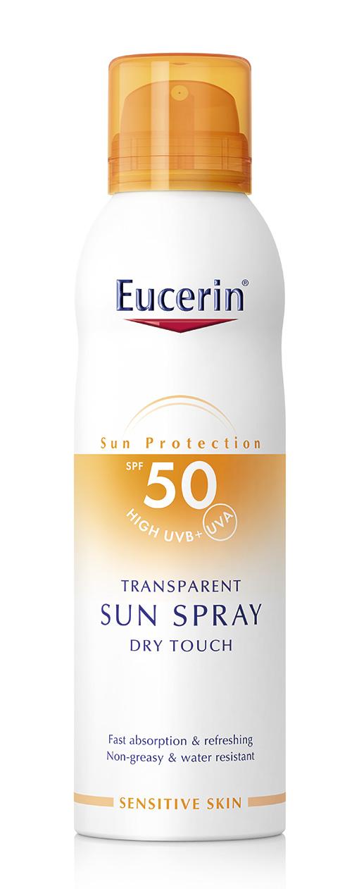 Eucerin Spray Dry SPF50