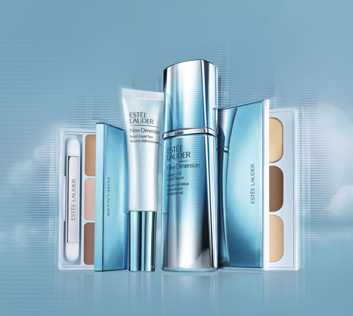 estee-lauder-new-dimension serum + contouring