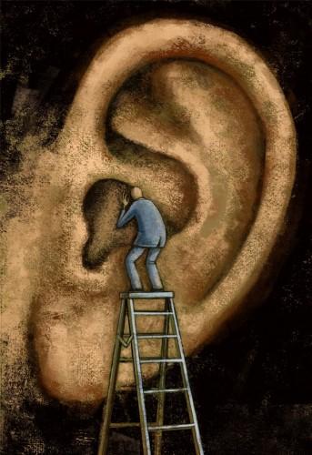 oreja audicion