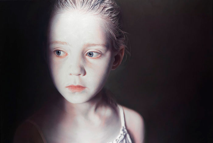 """""""El susurro de los inocentes"""", Gottfried Helnwein"""