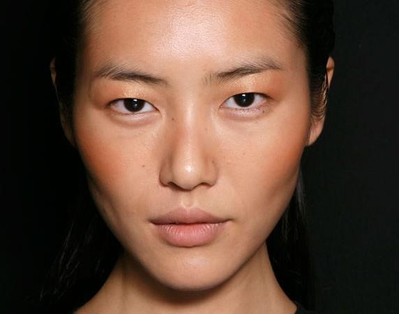 La modelo coreana Liu Wen