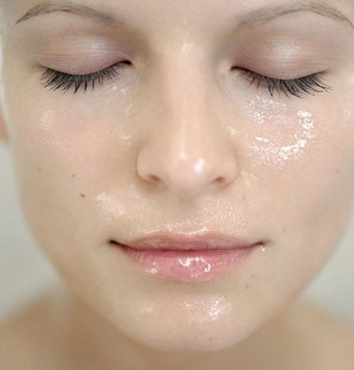 serum en el rostro