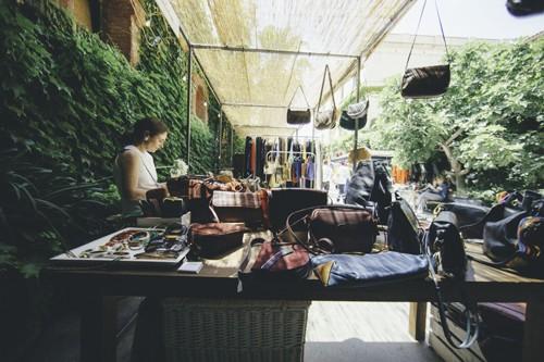 Moda en el Palo Alto Market