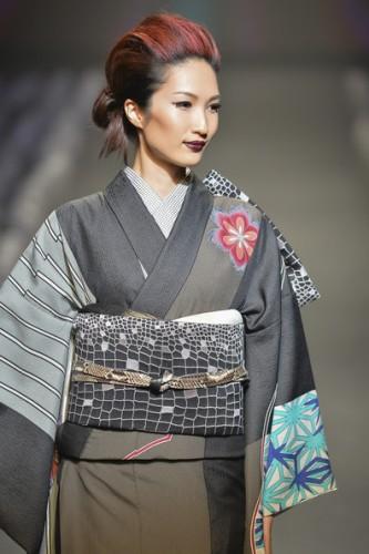 moda recogido oriental