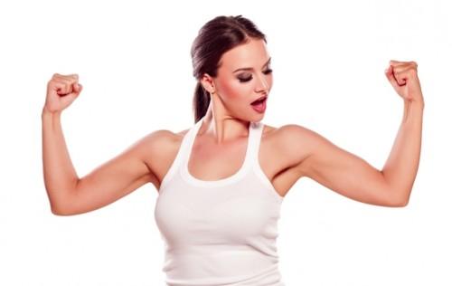 fitness y ejercicio piel firme