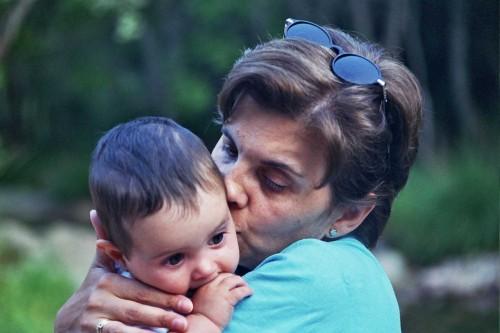 Gonzalo con mamá