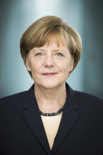 Bundeskanzlerin Angela Merkel freigegeben für Broschüre