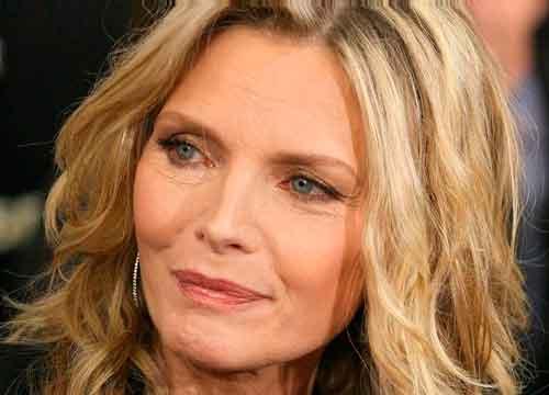 Mujer madura, Michelle Pfeiffer